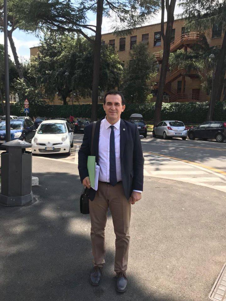 """Rektori Hajrizi viziton dhe arrin marrëveshje bashkëpunimi me universitetin më të mirë italian, """"La Sapienza"""""""