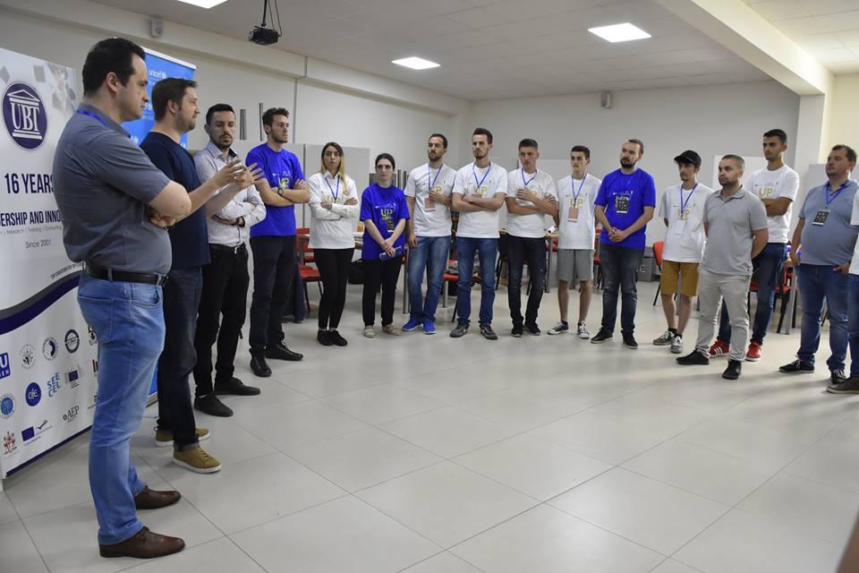 Shpallen projektet fituese të studentëve të UBT-së, nga punëtoria UPSHIFT-it