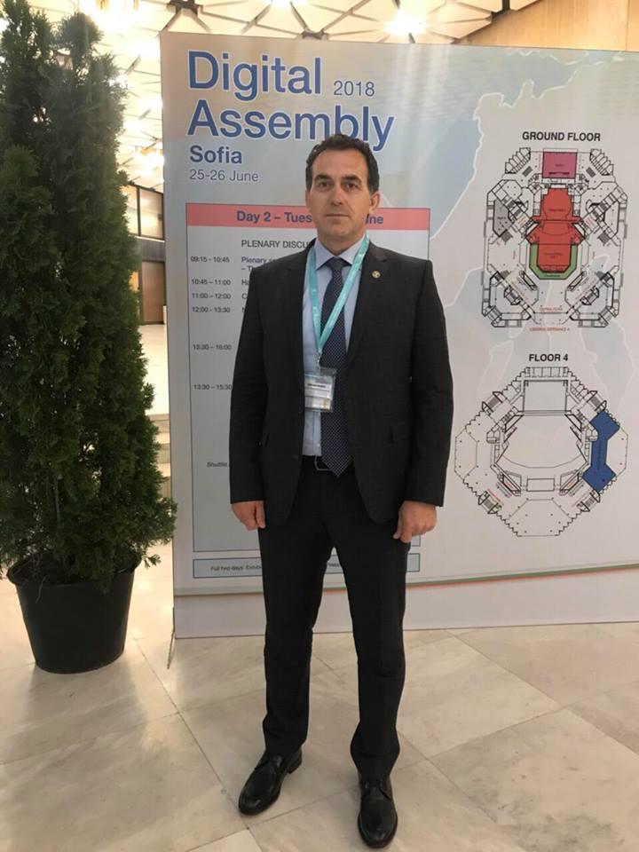 Rektori Hajrizi përfaqëson Kosovën në forumin Asambleja Digjitale 2018