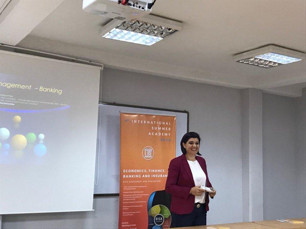 Në ANV-në e EFBS-së u ligjërua për sistemin bankar në Kosovë