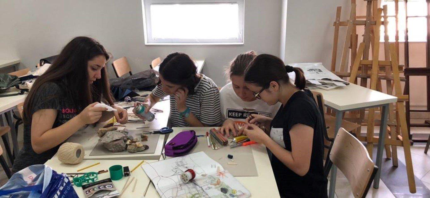 Puna në grupe me studentë, vlerë e shtuar e ANV-së së Arkitekturës
