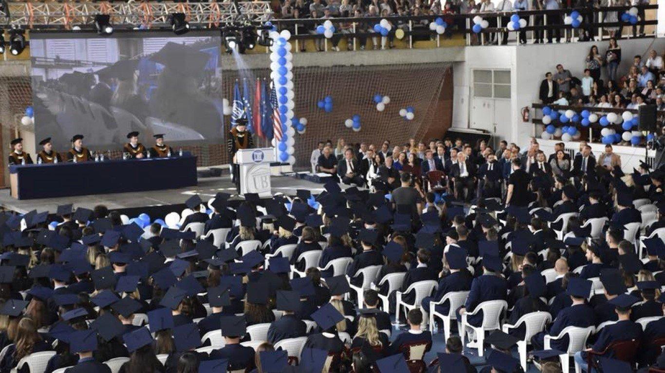 UBT mbajti ceremoninë e diplomimit për vitin akademik 2017/2018