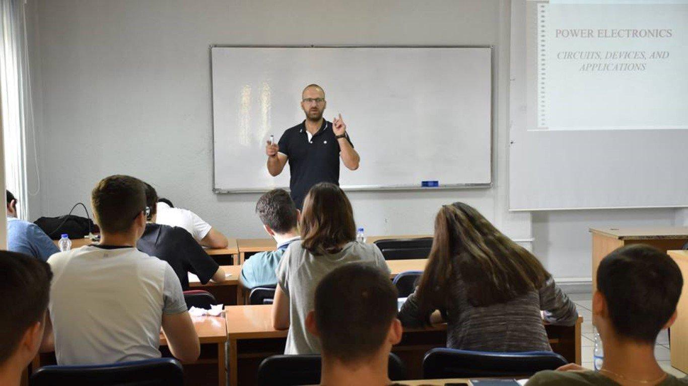 Përfundon ANV-ja e Fakultetit të Mekatronikës