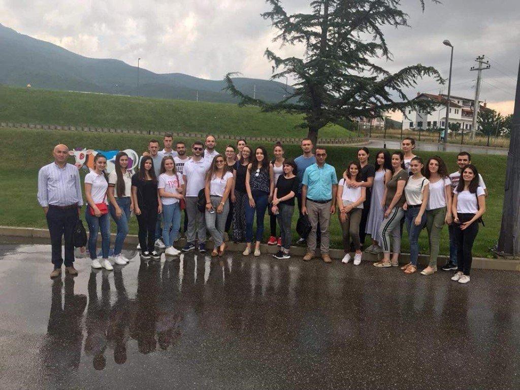 """Pjesëmarrësit e ANV-së Shkencave të Ushqimit vizituan """"Devoll Group"""""""