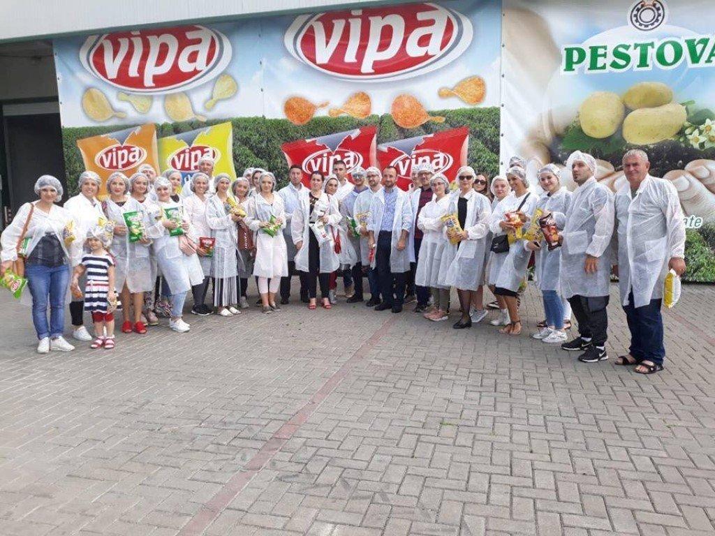 """Pjesëmarrësit e ANV-së së Ndërmarrësisë dhe Inovacionit vizituan kompaninë """"Buka-Meridian"""" dhe """"Vipa"""""""