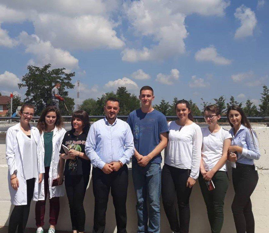 """Studentët e UBT-së vizituan kompaninë """"Bylmeti"""""""