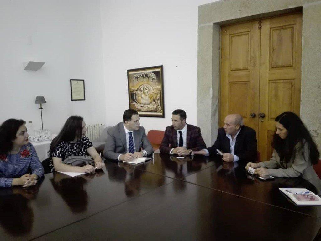 Përfaqësuesit e UBT-së vizituan Institutin Politeknik i Viana do Castelo (IPVC)