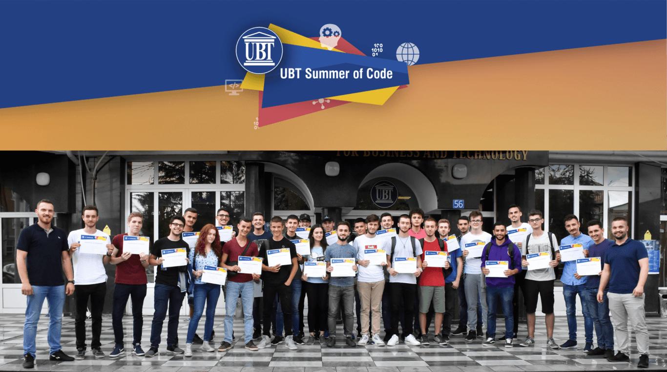 "Përmbyll aktivitetin punëtoria ""UBT Summer of Code 2018"""