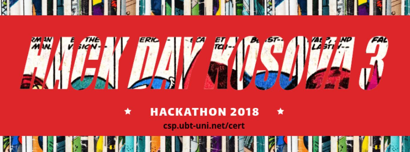 """UBT-CERT shpall të hapur thirrjen për aplikim në aktivitetin """"Hack Day Kosova 2018"""""""