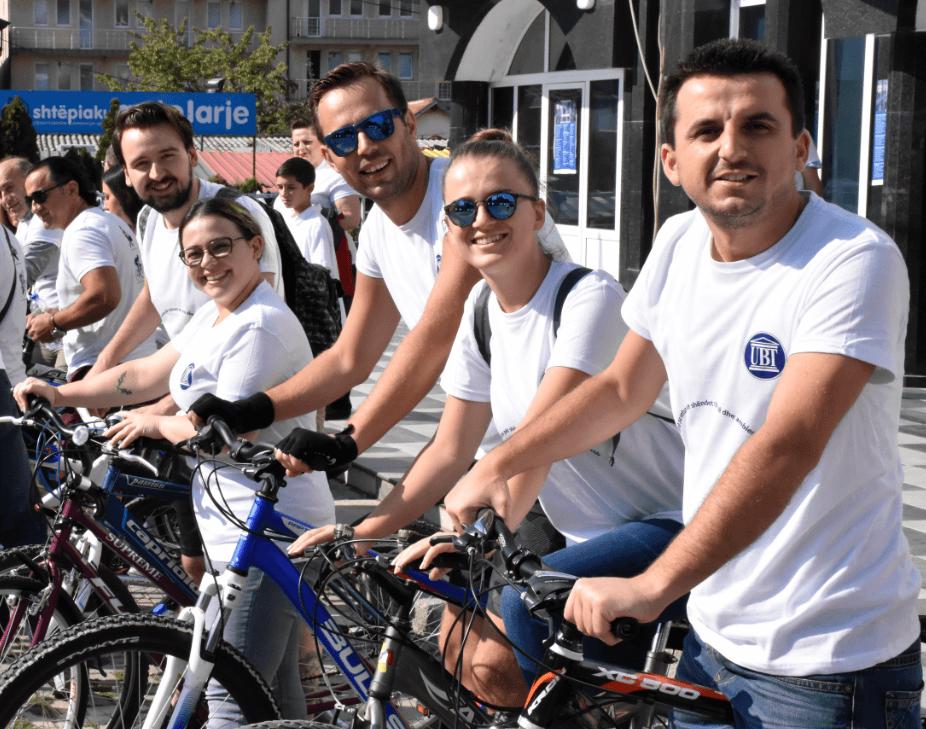 UBT shënon Ditën Ndërkombëtare pa Makina