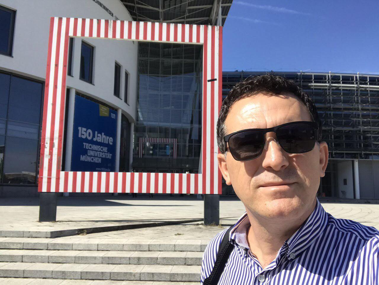 Rektori Hajrizi pritet në Gjermani nga eksperti i ekselencës, dr Andreas Dalluege