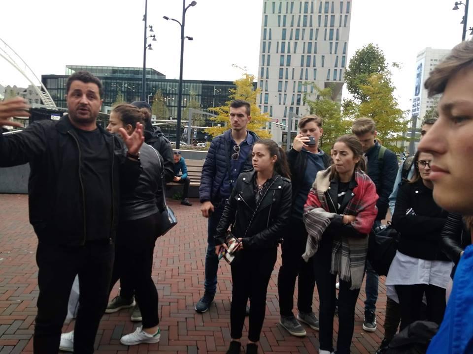 Studentët e UBT-së realizojnë vizitë studimore në Holandë