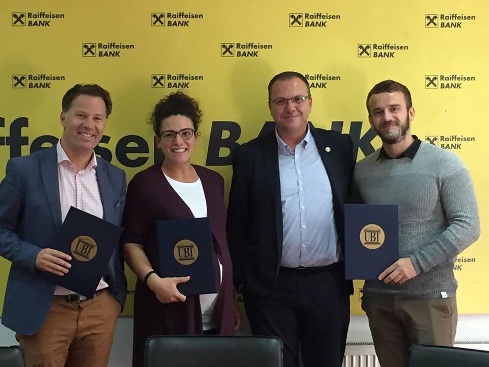 UBT mban trajnime të përshtatura për ekipin e menaxherëve të Raiffeisen Bank