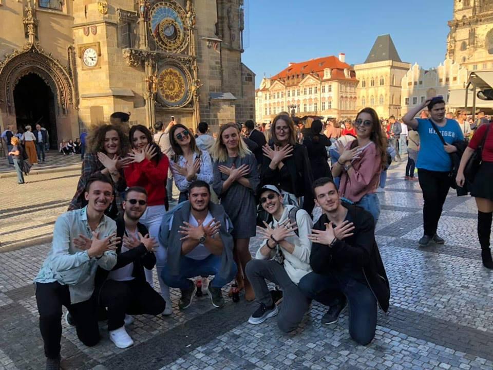 Në Eurotip-in e sivjetmë, studentët e UBT-së vizitojnë shumë qytete evropiane (Video)