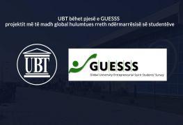 UBT bëhet pjesë e GUESSS – Projektit më të madh global hulumtues rreth ndërmarrësisë së studentëve