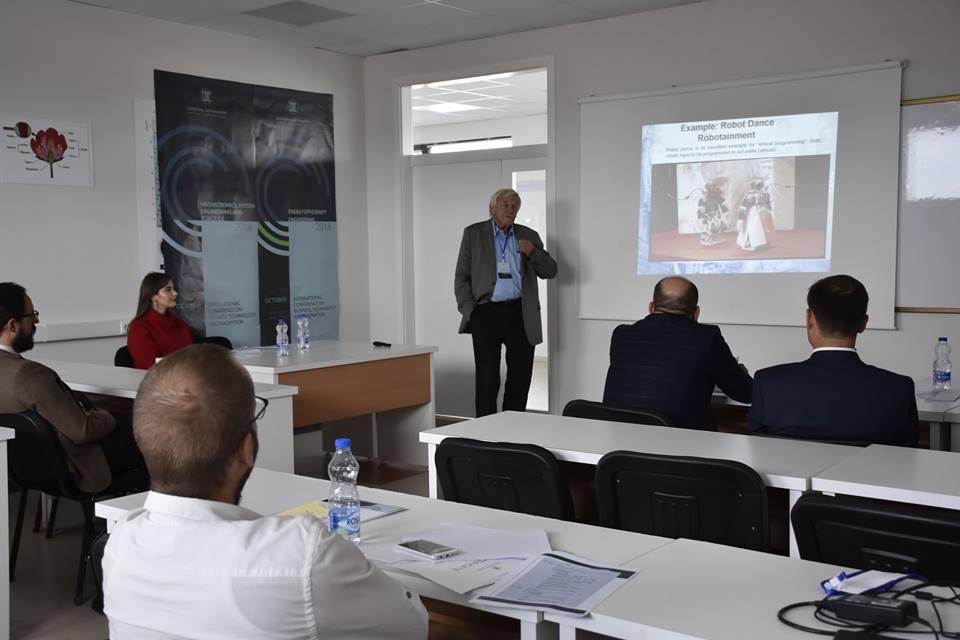 Punime të shumta shkencore nga fusha e Mekatronikës dhe Energjisë Efiçiente prezantohen në Konferencën Ndërkombëtare për Shkencë, Teknologji, Biznes dhe Inovacion