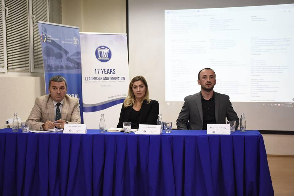 Në ditën e dytë të Javës Globale të Ndërmarrësisë, lansohet platforma interaktive e UBT STATS
