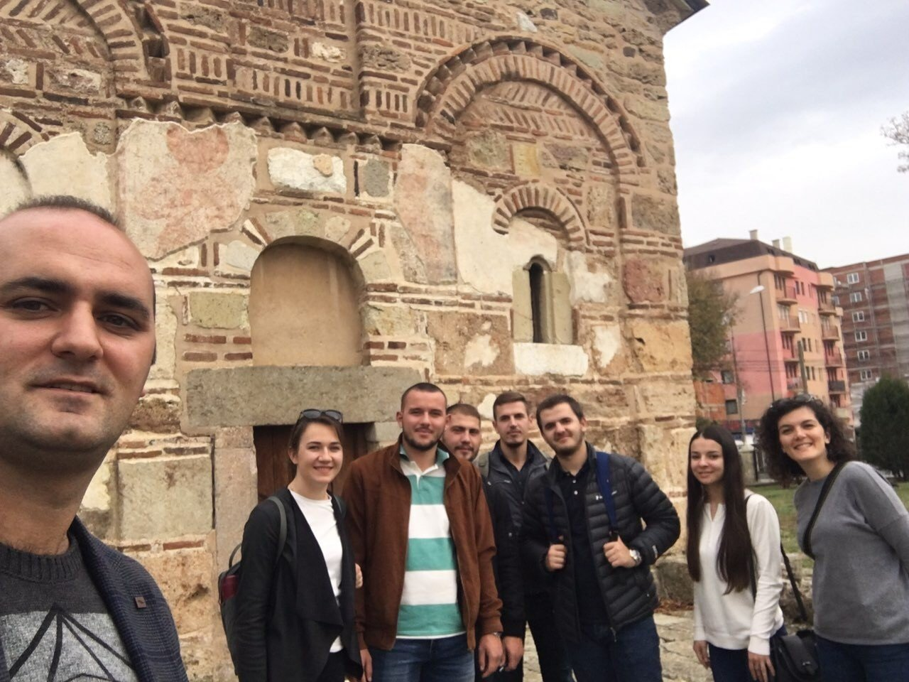 UBT students of Lipjan paid a study visit to the antique part of this city