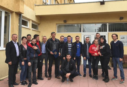 Studentët e UBT-së vizituan minierat dhe laboratorët e KEK-ut