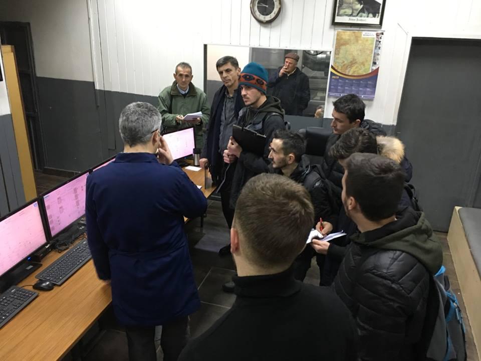 Studentët e Inxhinierisë së Energjisë vizituan Termokosin