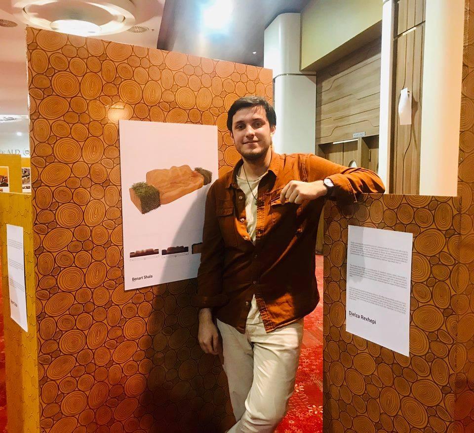 Studenti i UBT-së, finalist në Garën Studentore për Dizajn
