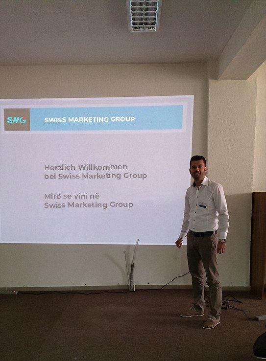 """Ish-studenti i UBT-së, menaxher dhe IT në kompaninë """"Swiss Marketing Group"""""""