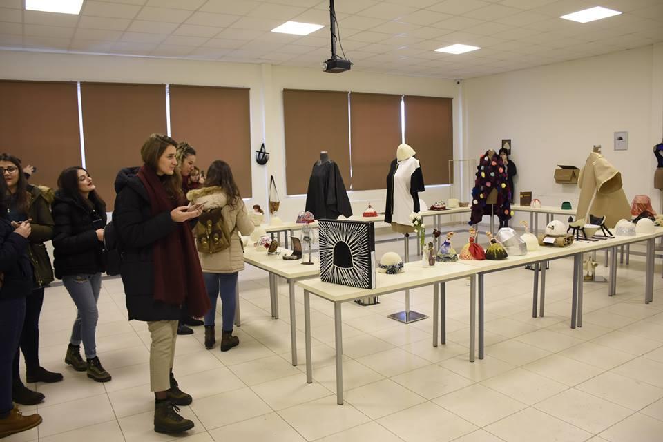 Plisi, koncept i formës së punimeve të prezantuara në ekspozitën e Dizajnit të Integruar