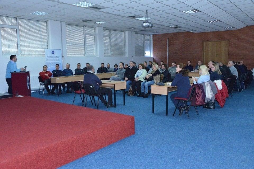Studentët e Juridikut vizituan Akademinë e Kosovës për Siguri Publike