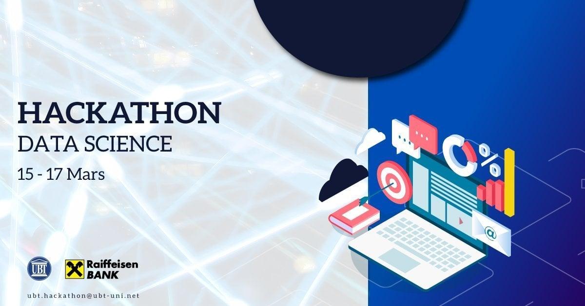"""UBT dhe Raiffaisen Bank shpallin të hapur thirrjen për aplikim në garën """"Data Science Hackathon"""""""