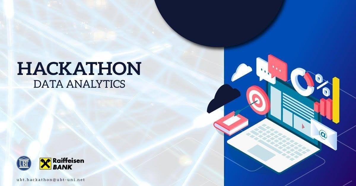 UBT dhe Raiffeisen Bank po organizojnë garën Data Analytic Hakathon- Aplikimi i hapur