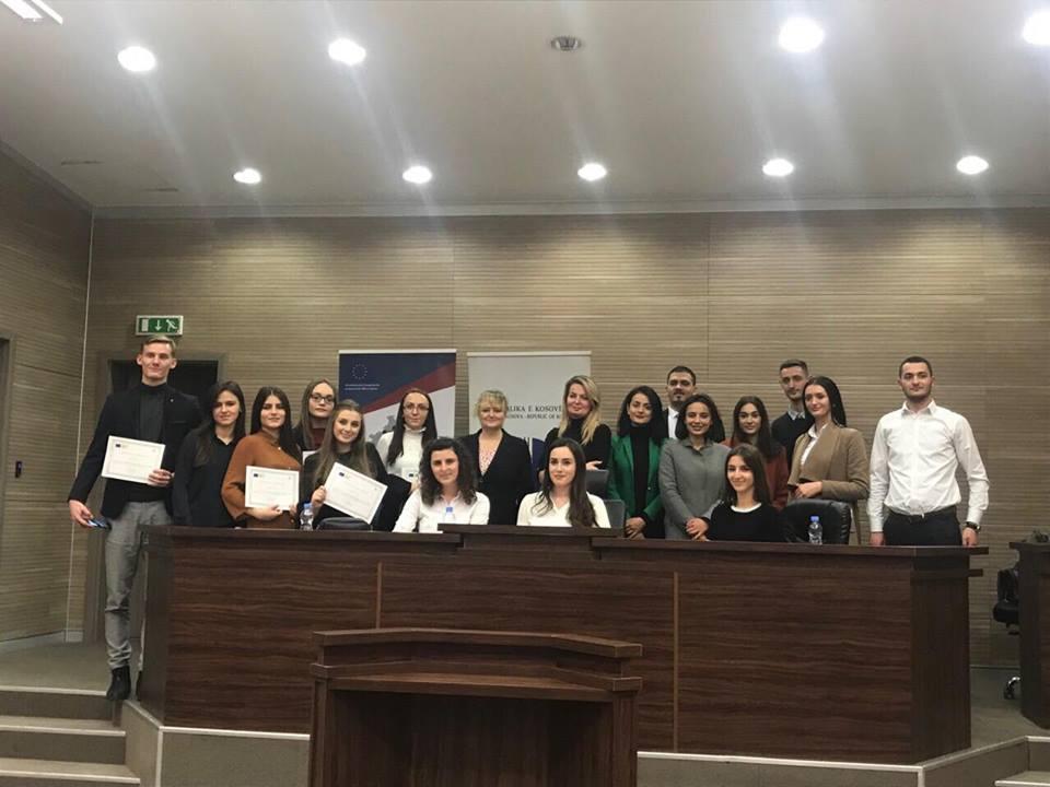 Studentët e Fakultetit Juridik, pjesë e projektit të BE-së për përgatitje profesionale të juristëve të ardhshëm