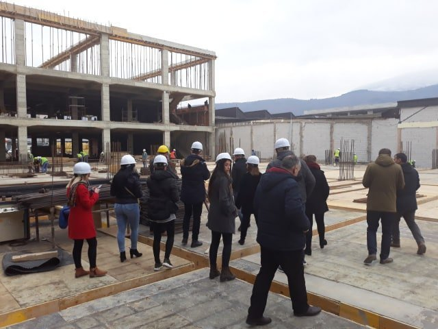 Students of Architecture and Spatial Planning visited the largest manufactory in Prizren