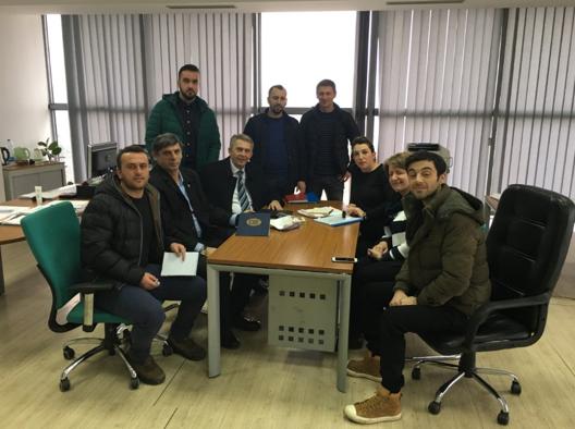 Studentët e UBT-së vizituan Komunën e Prishtinës