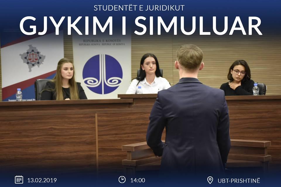 NJOFTIM:  Studentët e Fakultetit Juridik organizojnë gjykim të simuluar