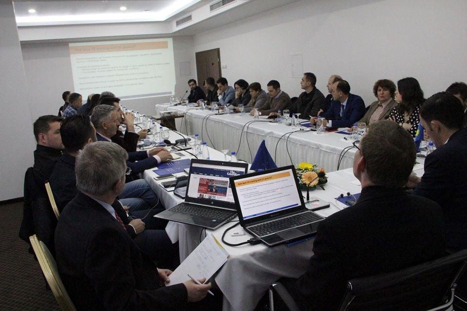 Prodekani i Fakultetit të Ndërtimtarisë, Visar Krelani përfaqëson UBT-në në takimin me ministrin Shala