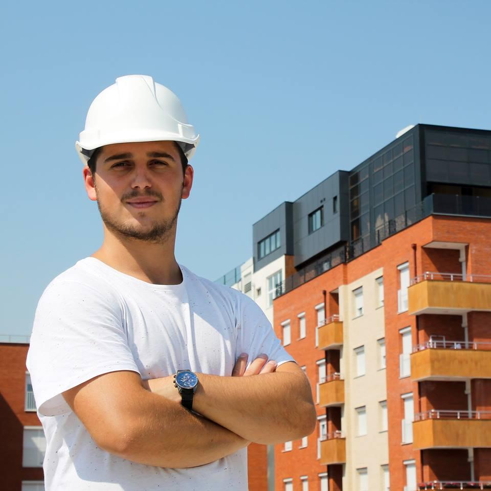 UBT student, Mergim Kukaj has been employed in Al Trade Company
