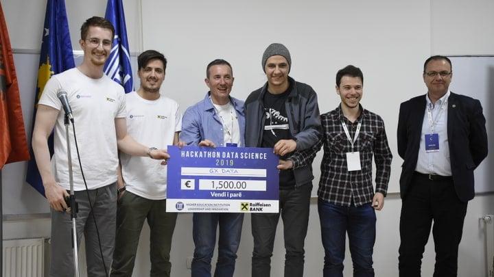 "Shpallen ekipet fituese të garës ""Data Science Hackathon"""