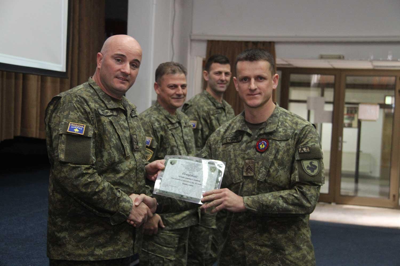 Studenti i UBT-së, ushtari më i mirë i Brigadës së Mbështetjes Operacionale