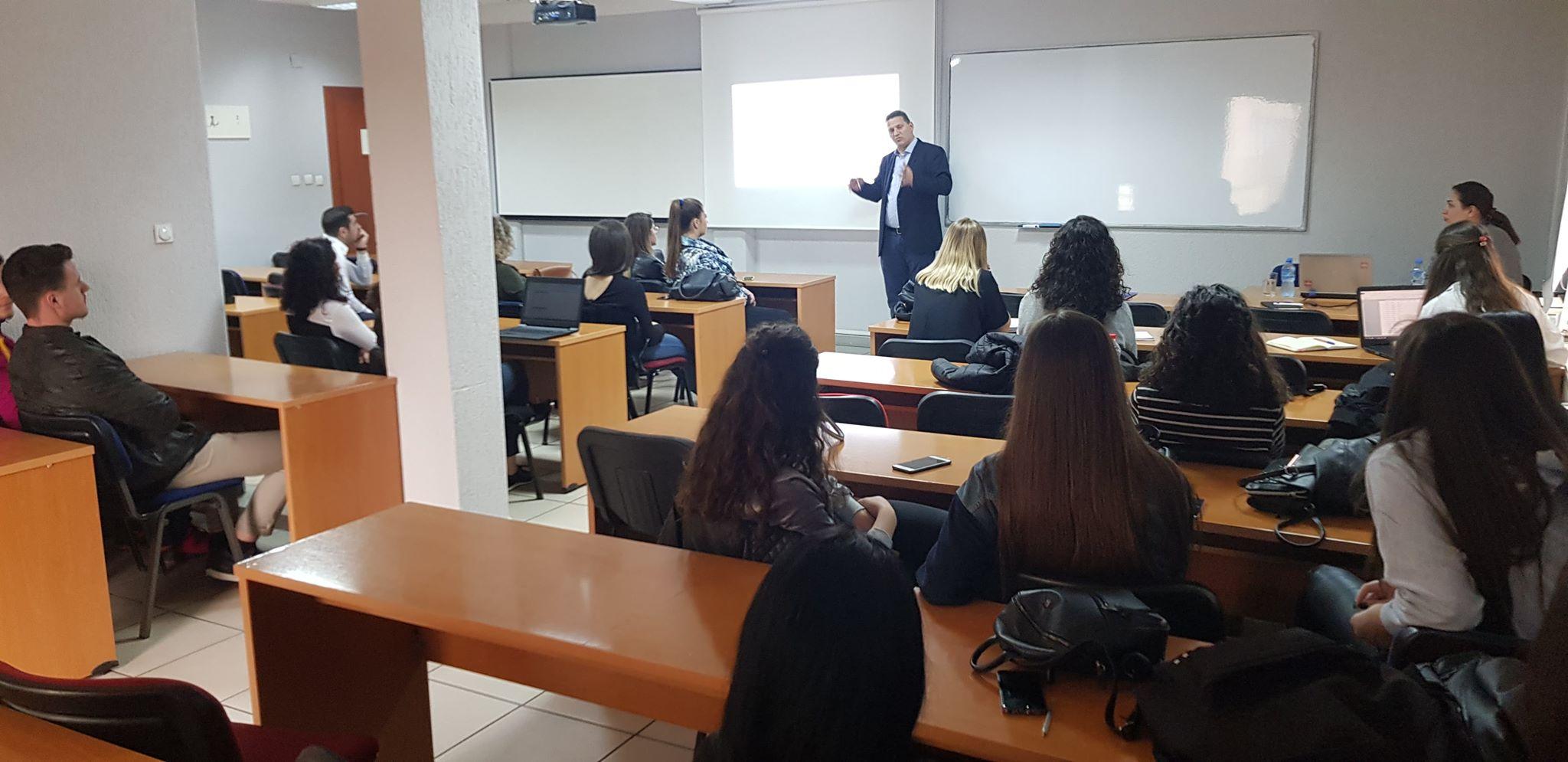 Studentët e UBT-së marrin informacione mbi mbrojtjen e pronësisë intelektuale
