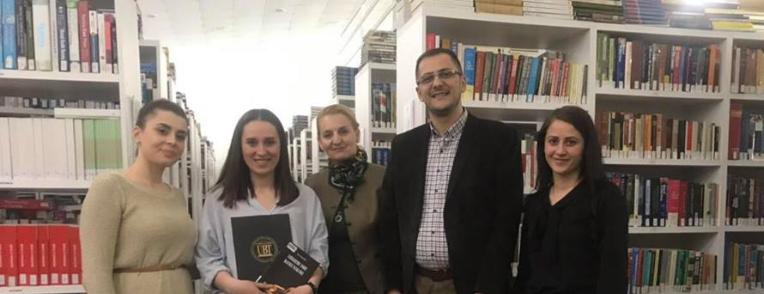 UBT shpall lexuesit e vitit