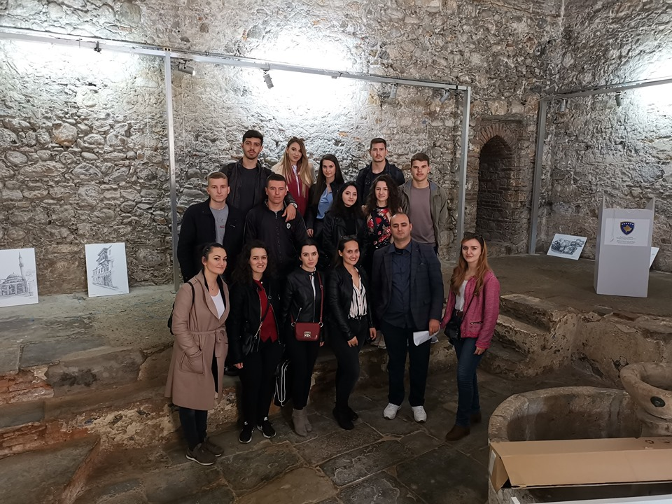 UBT students of Architecture students analyzed the historic development of Prizren