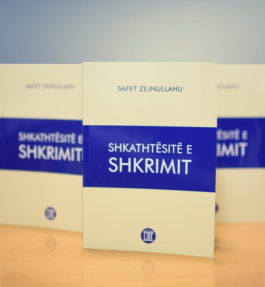 """Publikohet libri """"Shkathtësitë e shkrimit"""" i profesorit Safet Zejnullahu"""