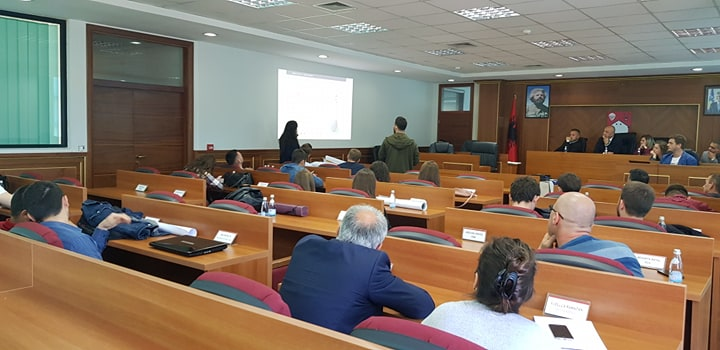 The representatives of Skenderaj and local architects were impressed by urban design proposals of UBT students