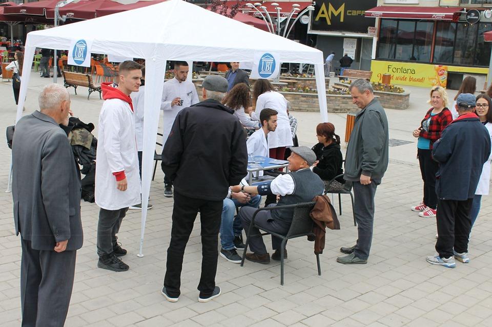 Studentët e Infermierisë shënojnë Ditën Ndërkombëtare të Hipertensionit në Gjilan