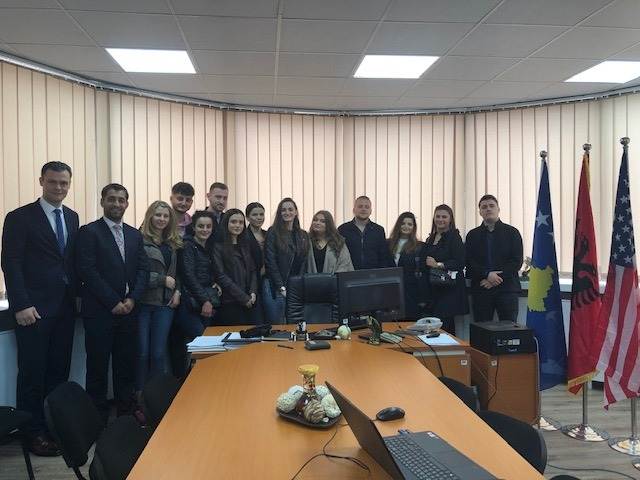 Law Students visited the Kosovo Competition Authority