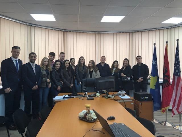 Studentët e Juridikut vizituan Autoritetin Kosovar të Konkurrencës