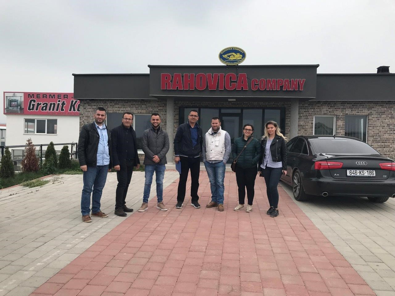 UBT students of Civil Engineering and Infrastructure have been informed about projects and the way how Rahovica Company operates