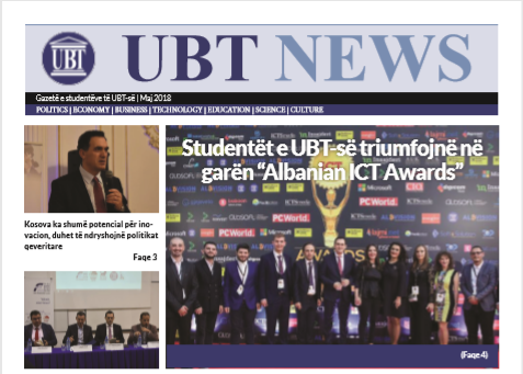 UBT-News Maj 2018