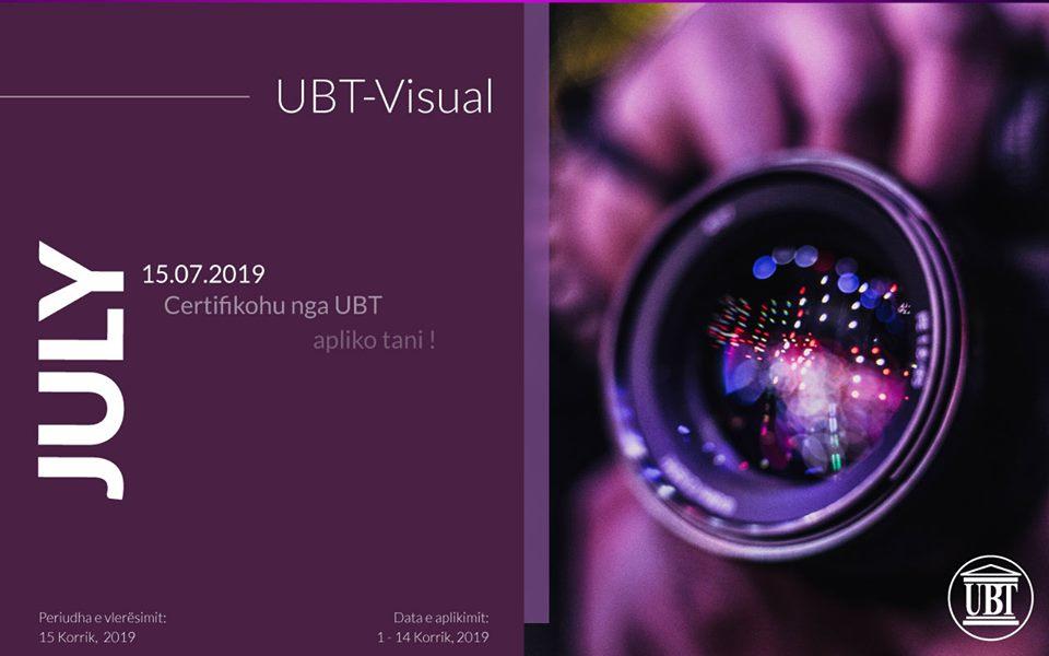 """UBT ofron kursin e fotografisë """"UBT Visual"""""""