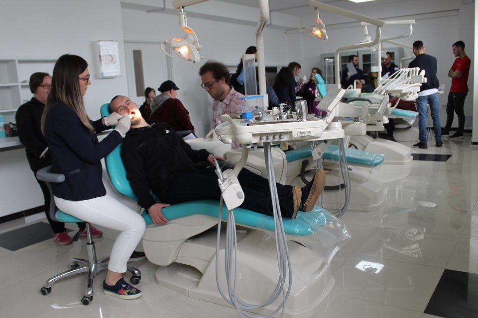 Members of Down Syndrome Kosova visited UBT and received oral health advice
